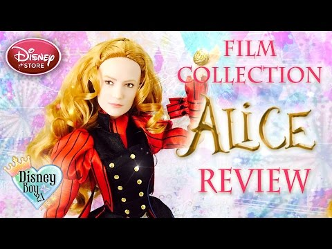 Disney Store Alice Through the Looking Glass - Alice Doll Review