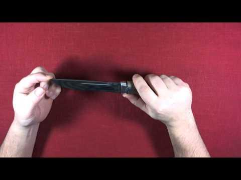 Демонстрация ножа Бекас