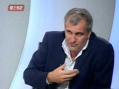 Poligraf sa jugoslavom Cosicem,gost Zeljko Obradovic 23.9.2005.