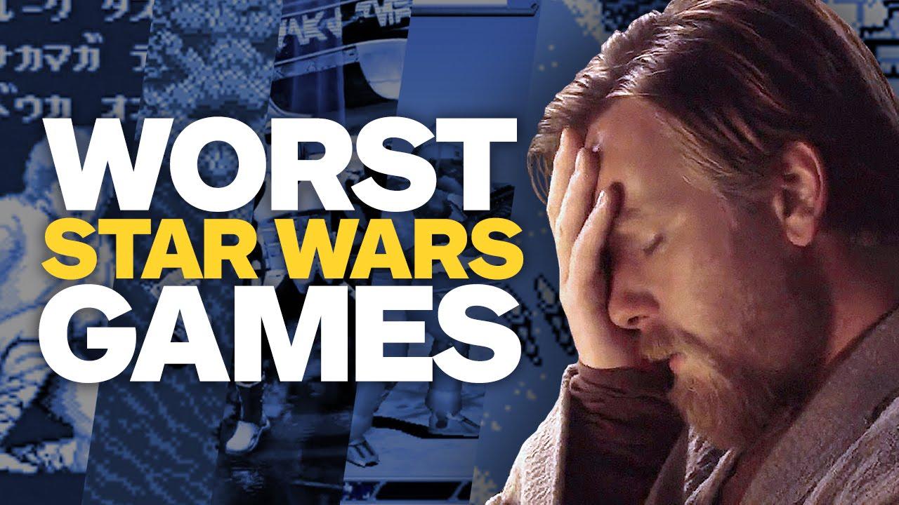 Игры по Звездным Войнам: Худшие игры по Звёздным войнам