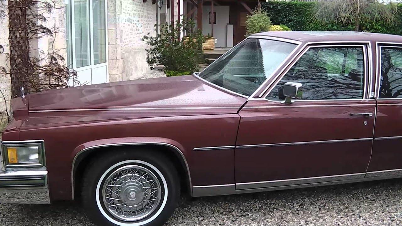Ma cadillac Fleetwood brougham d'elegance EFI 1978 (à vendre) Part1