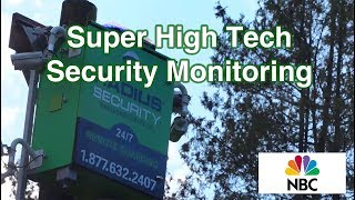 High-Tech Video Surveillance For Businesses  - National Network Story about Radius Security