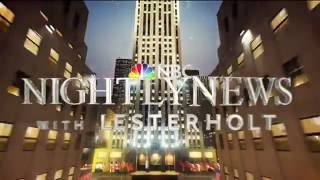 NBC Nightly News New Open 10/10/16