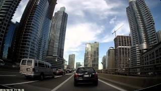 Driving from Downtown Toronto to East York