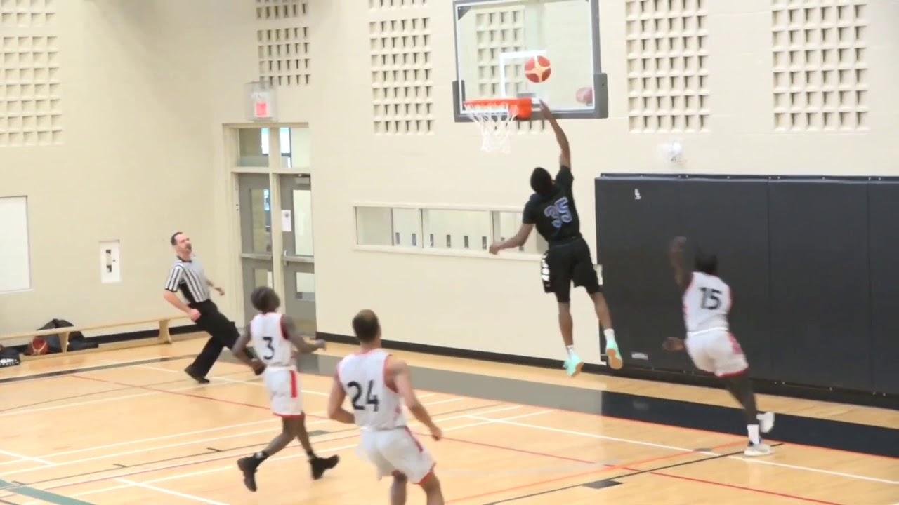 Download Baraka Okojie at the provincial High school Senior Men Basketball Q-Finals. D'Youville vs. Eastwood