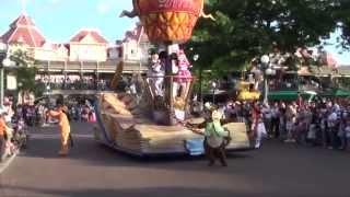 Disney's Once Upon a Dream Parade 1/2 - Disneyland Paris HD