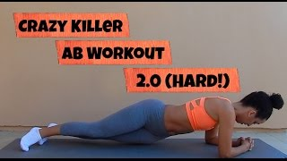 CRAZY Killer Ab Workout 2.0 (Hard!)