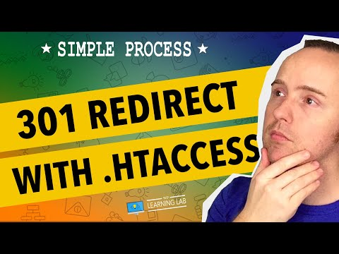 301 Redirect Using .HTAccess - Redirect A Website Page | WP Learning Lab