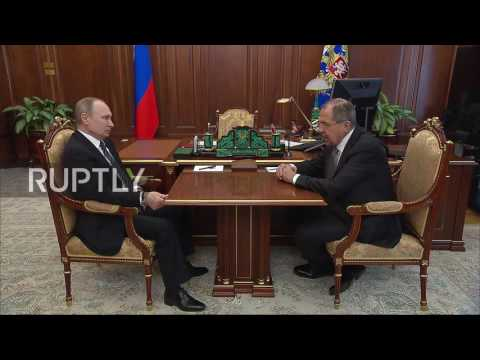 Russia: Putin congratulates Lavrov and all Russian diplomats on Diplomat's Day