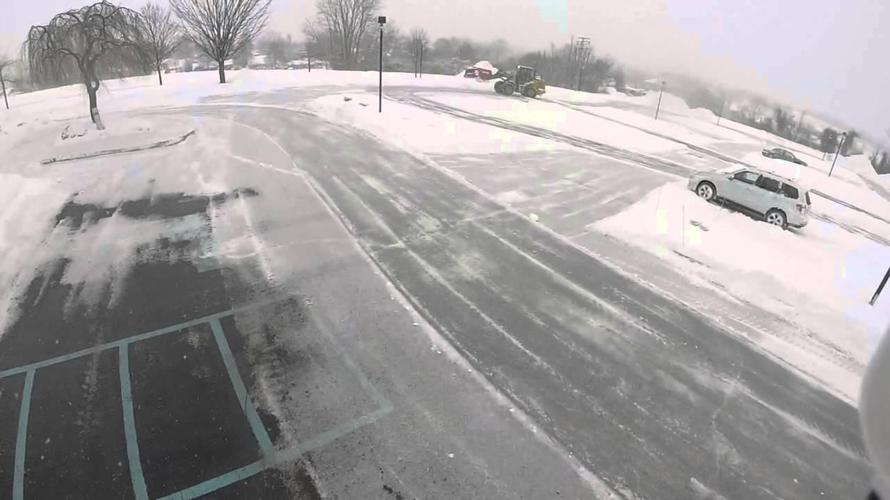 New Castle Lawn Landscape Snow Removal Video 1