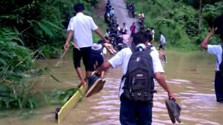 Abg smp 6 haruai Banjir.3gp
