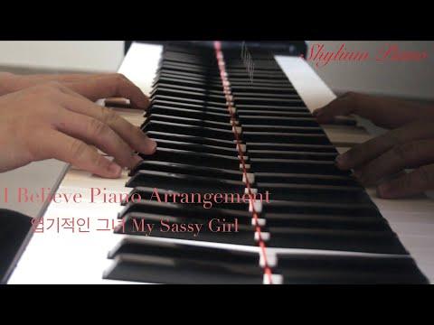 I Believe Piano Version Korean Love Song Prince 신승훈 Shin Seung Hun My Sassy Girl