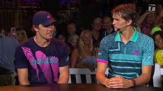 Zverev Brothers Visit Tennis Channel Desk Washington D.C. Citi Open