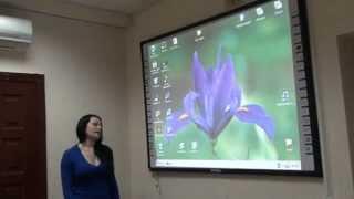 Видеообзор интерактивной доски INTECH M-76 Dual user(Видеообзор интерактивной доски INTECH M-76 Dual user. Больше информации о интерактивных досках Вы можете найти на..., 2013-04-10T08:56:16.000Z)