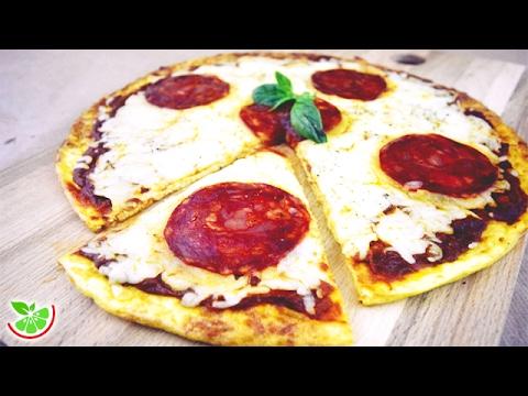 LowCarb Pizza | Flourless | Gluten Free | Yo +Green