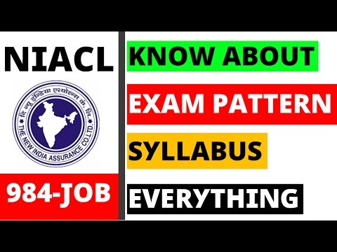 NIACL 984 Assistant Vacancies Out ! Check Pattern and Syllabus