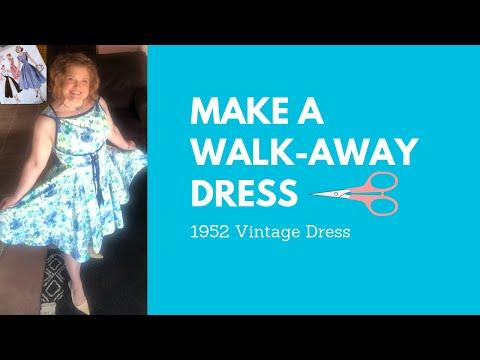1952 Walk Away Wrap Dress