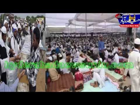 tablighi jamat ijtema @ shaheen nagar /hyderabad news urdu