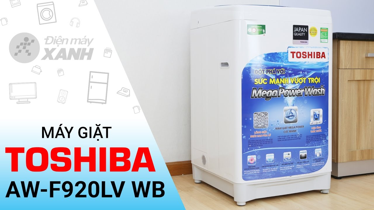 Đánh giá máy giặt Toshiba AW-F920LVWB | Điện máy XANH