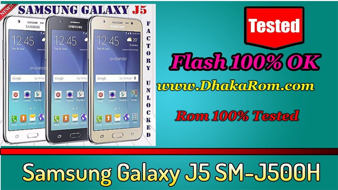 Samsung Galaxy J5 SM-J500H Stock Rom Firmware (Flash File) | Odin Flash Tool