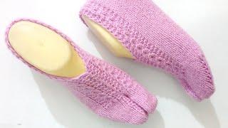 Knitting Ladies Woolen Slippers , Shocks , Thumb Shocks