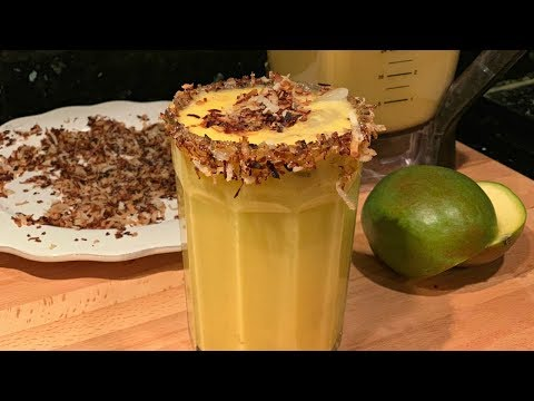 How to make Mango Pineapple and Coconut Drink (Easy Steph by Steph) | Views Recipe