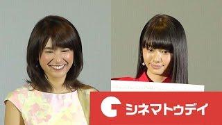 モデルで女優の山本舞香が5日、都内で行われた初主演映画『桜ノ雨』の初...