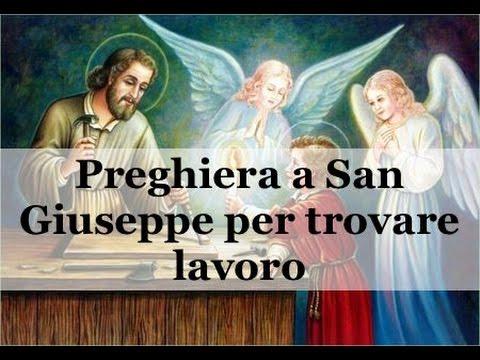 Preghiera a San Giuseppe per trovare lavoro