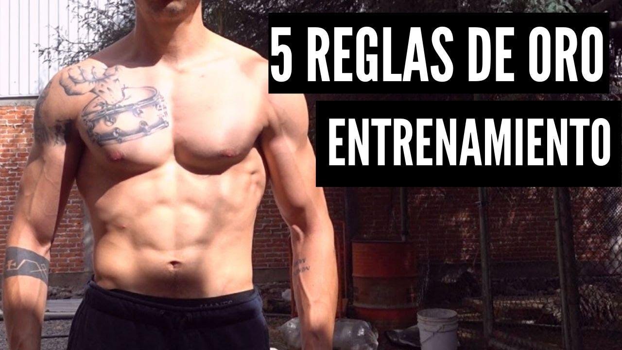5 reglas de ORO en el entrenamiento que DEBES SABER