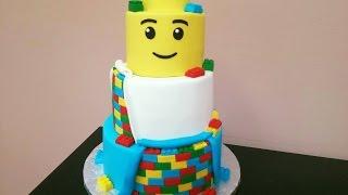 How to: Lego Cake Tutorial