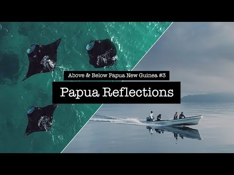 Diving Papua Neu Guinea #3 - Reflections - The Islands of Milne Bay