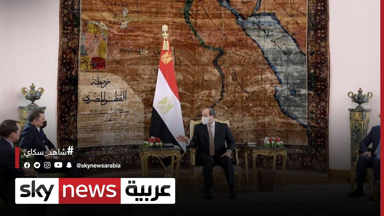 مصر: توقيع اتفاقيات في مجالات مختلفة بين القاهرة وطرابلس | #مراسلو_سكاي  - نشر قبل 2 ساعة