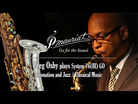Greg Osby on intonation and the