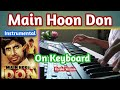 Are diwano mujhe pachano instrument on Keyboard