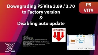 Tutorial 2 : PSVita 3.69 / 3.70 | Downgrade Your PS Vita/PS TV With Modoru