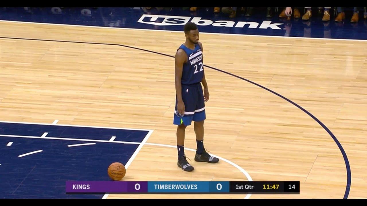 Wolves Take 8-Second Violation, Put Ball On Free-Throw Line Where Kobe Passed MJ's Scoring Record