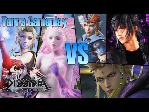 Dissidia Final Fantasy NT JPN Beta – Terra Gameplay | Online Matches