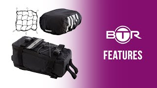 🚲🚲Rear Rack Bike Bag - add a Pannier for Extra Storage fast!🛍 by BTR