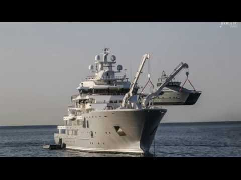 107m Superyacht 'ULYSSES' & Her 8 Tenders, NEW Nauta Air 111, Boat Crash At 260mph & much more