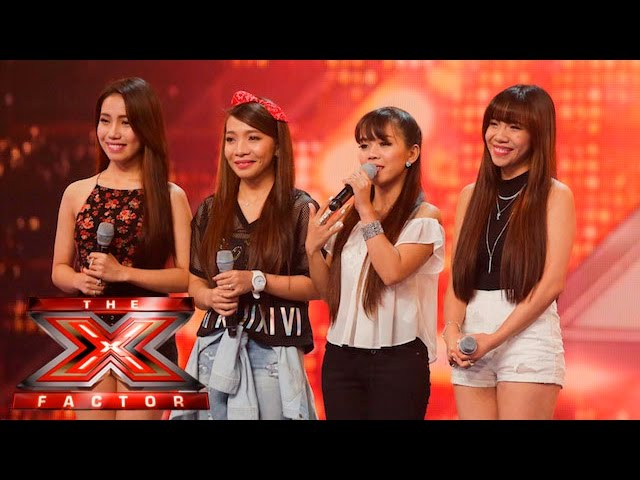 4th Power are absolute perfection | 6 Chair Challenge | The X Factor UK 2015 #1