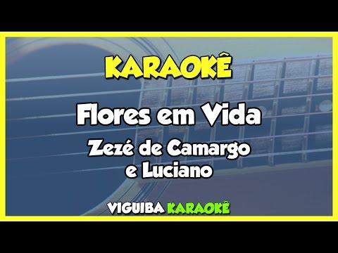 Flores Em Vida - Zezé di Camargo e Luciano / VERSÃO KARAOKÊ