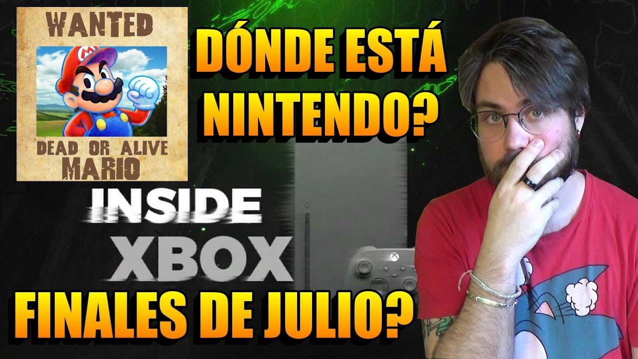 Xbox Series X Mostrará Sus Juegos a finales de Julio   ¿Dónde Está NINTENDO?   Echo de Menos el E3