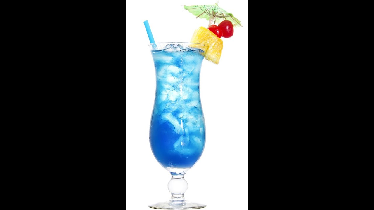 Как приготовить коктейль Голубая лагуна