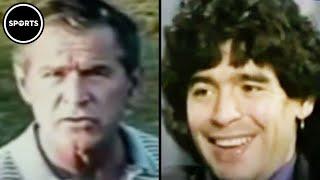 Remember When Diego Mąradona Called George W. Bush Trash?