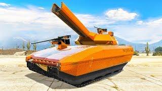 OVERPOWERED $10,000,000 RAILGUN TANK! (GTA 5 Doomsday Heists DLC)