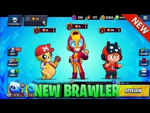 Все герои и скины в Brawl Stars! - YouTube