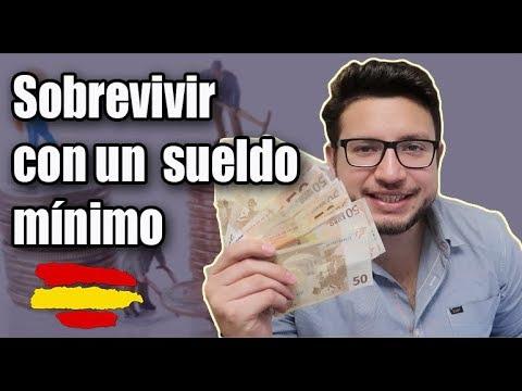 ¿Que se puede hacer con un sueldo minimo en España? 2018|¿Lujo o Supervivencia?