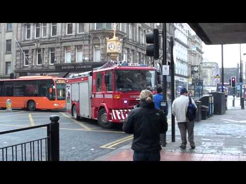 Emergency Services In Newcastle Upon Tyne - Fire Service