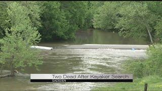 Rescue worker dies; kayaker's body found