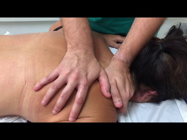 Zona dorsal y escapular